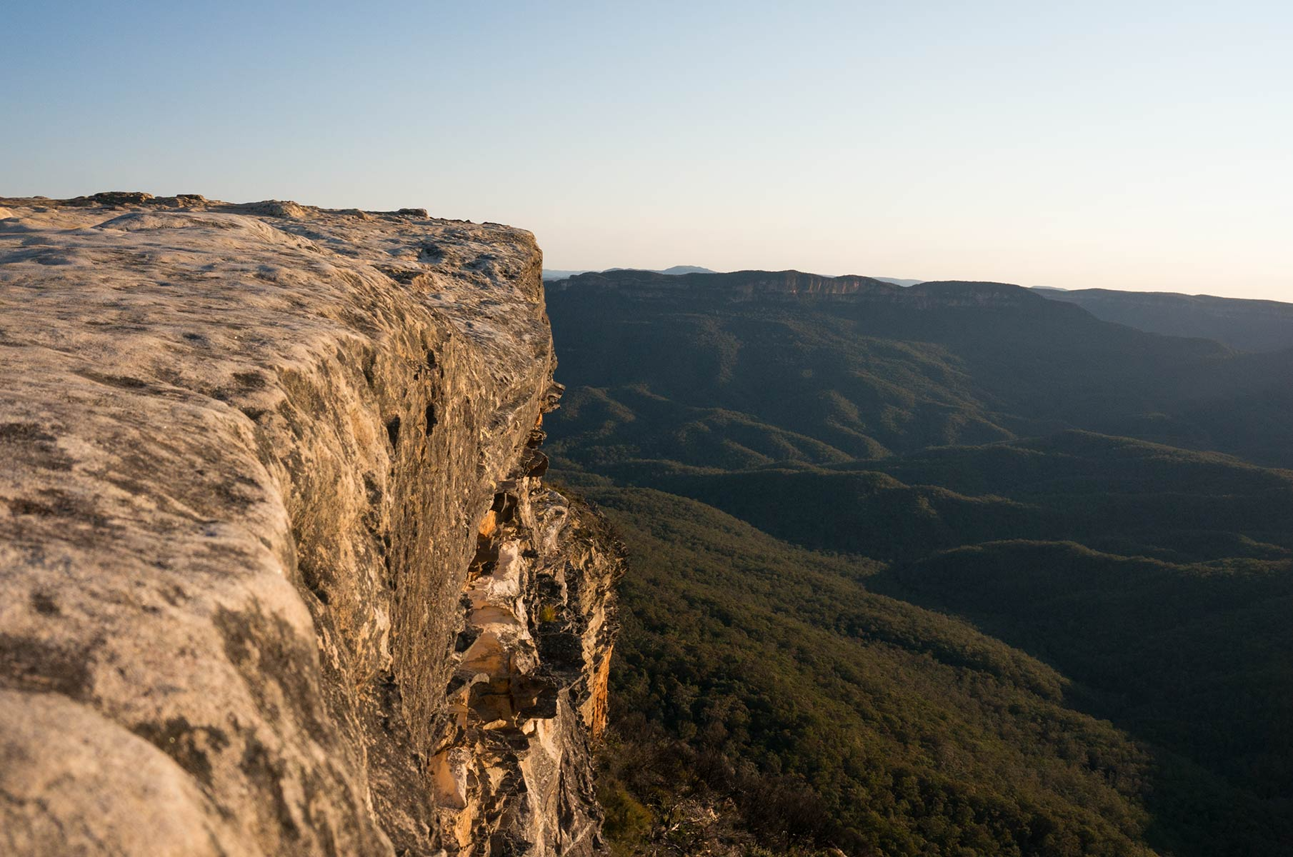 Lincoln's Rock im Blue Mountains Nationalpark, Australien