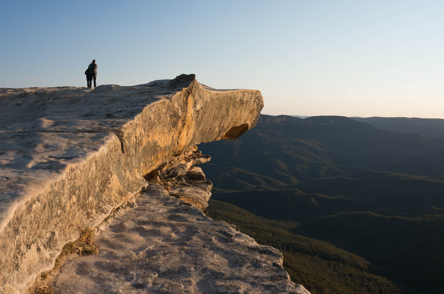 Lincoln's Rock im Blue Mountains Nationalpark, Australien