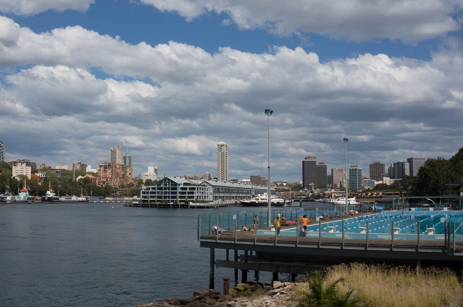 Cowper Wharf in Sydney, Australien