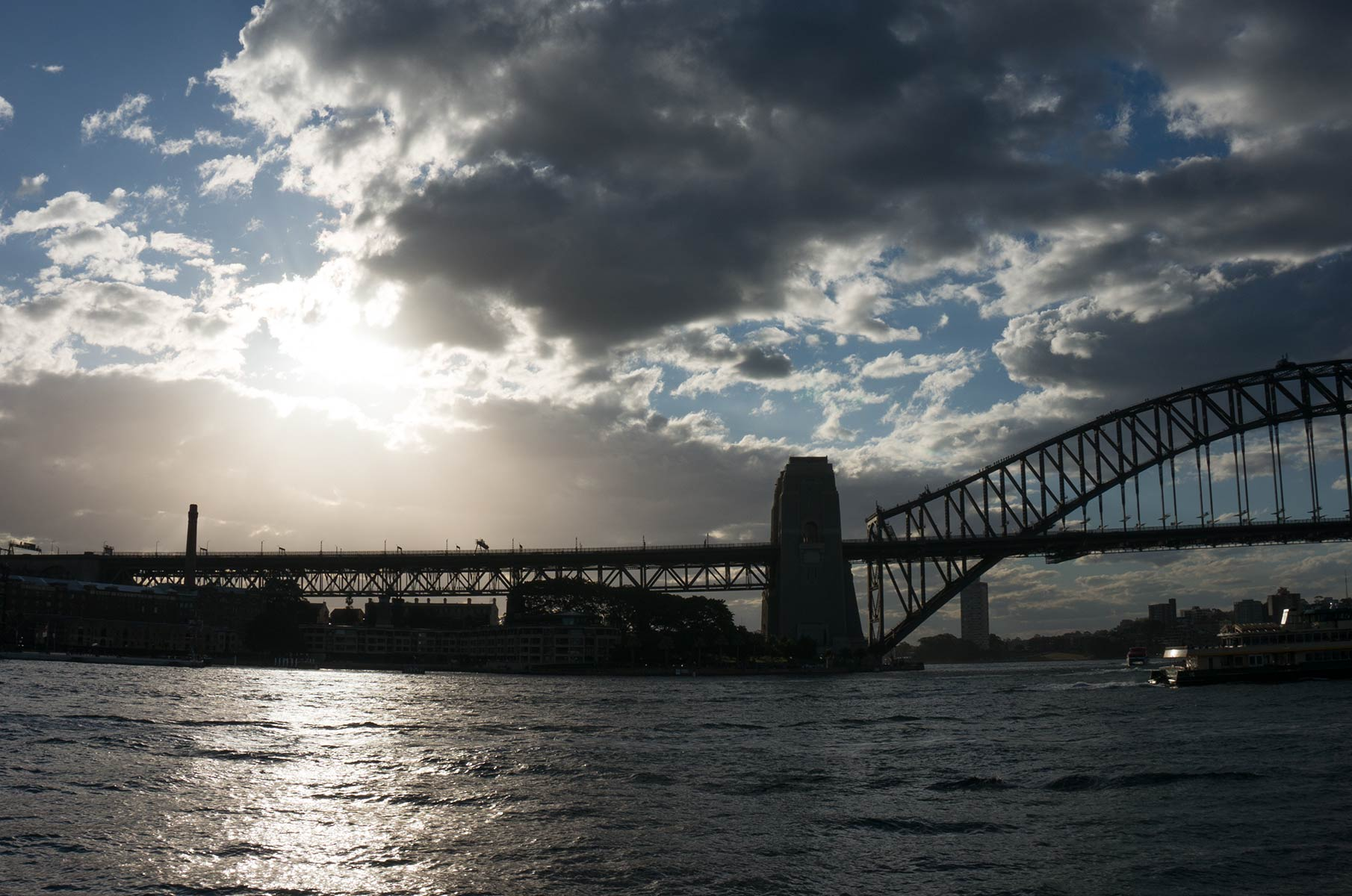Harbour Bay Bridge in Sydney, Australien