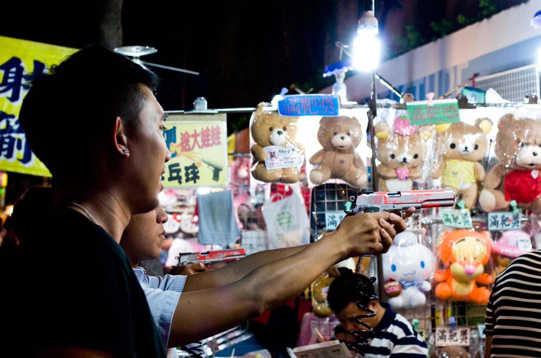 Shilin Nachtmarkt in Taipei, Taiwan