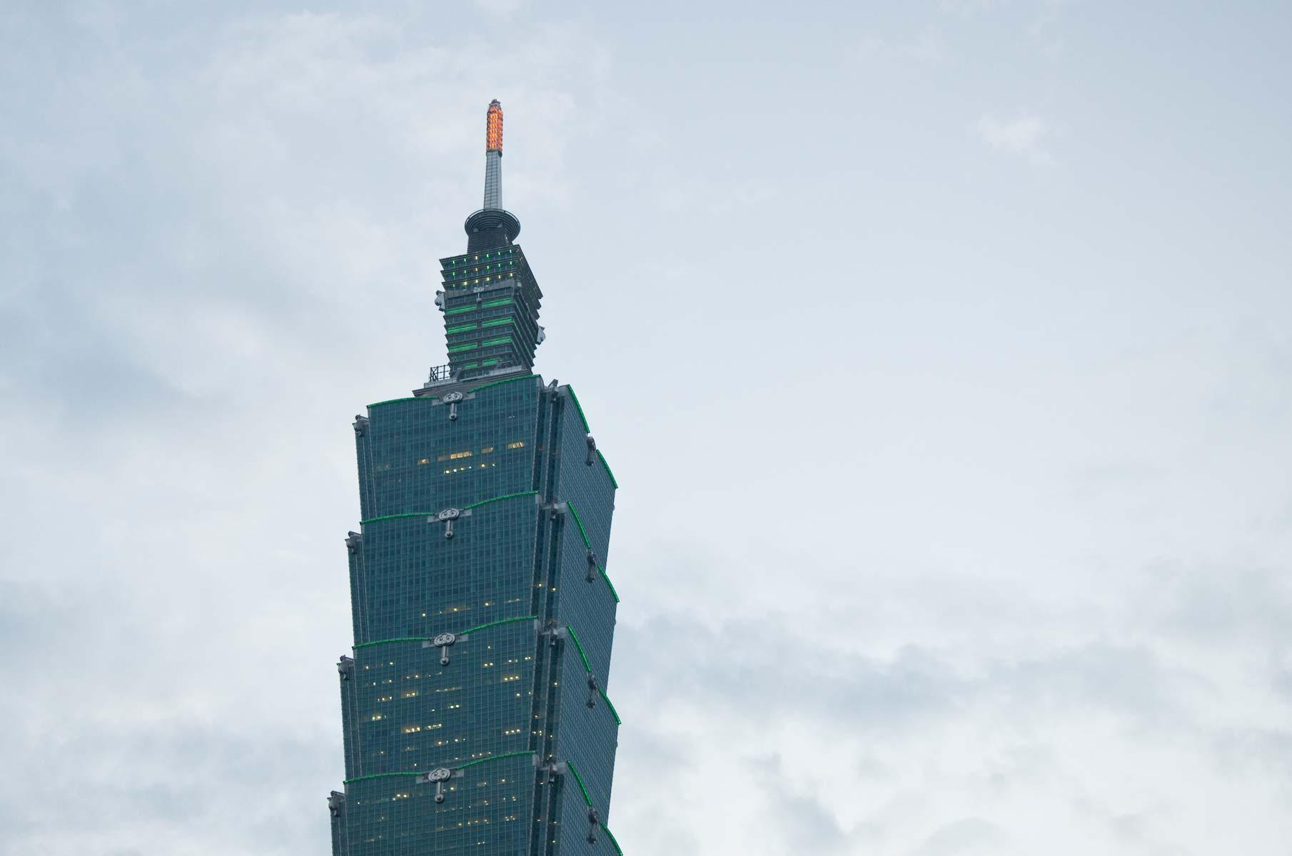 Taipei 101 Hochhaus in Taiwan
