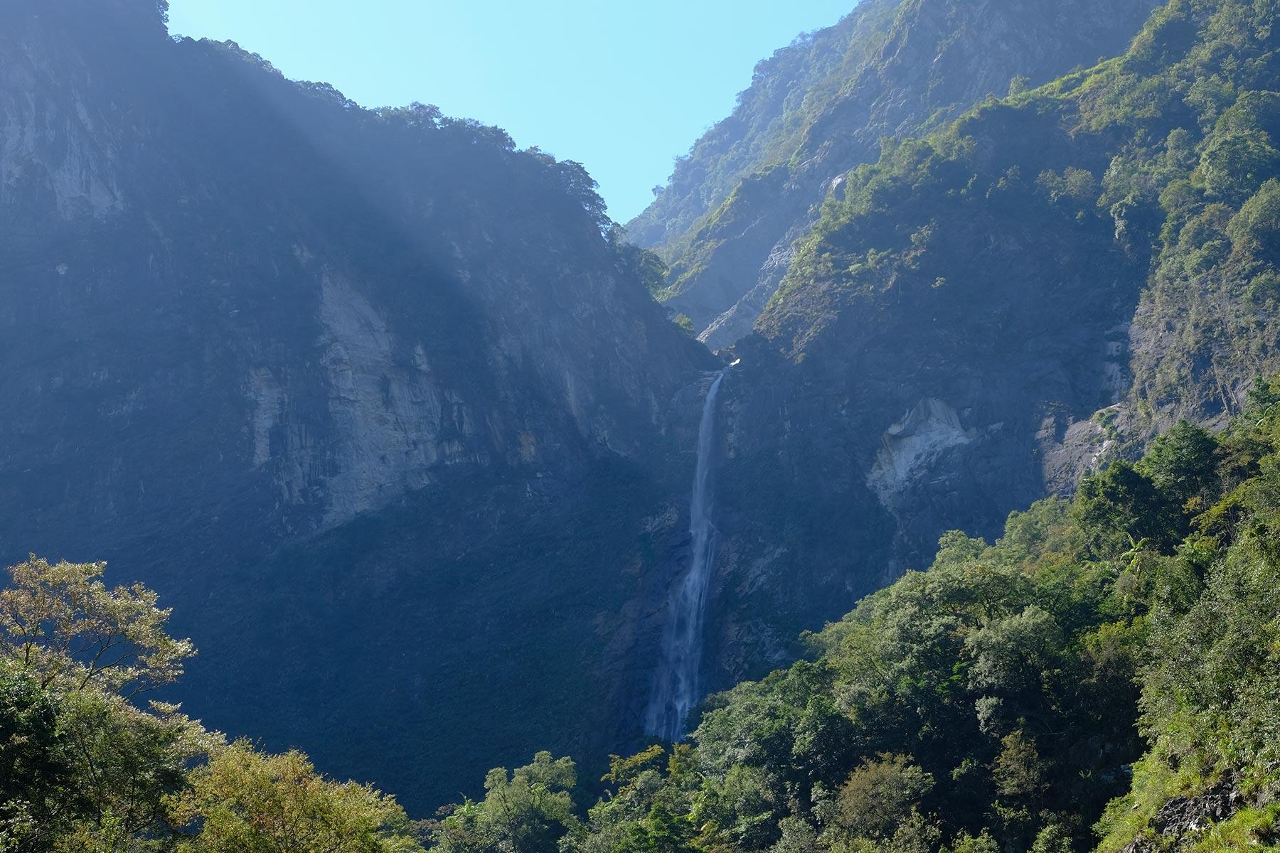 Baiyang Wasserfall im Taroko Nationalpark