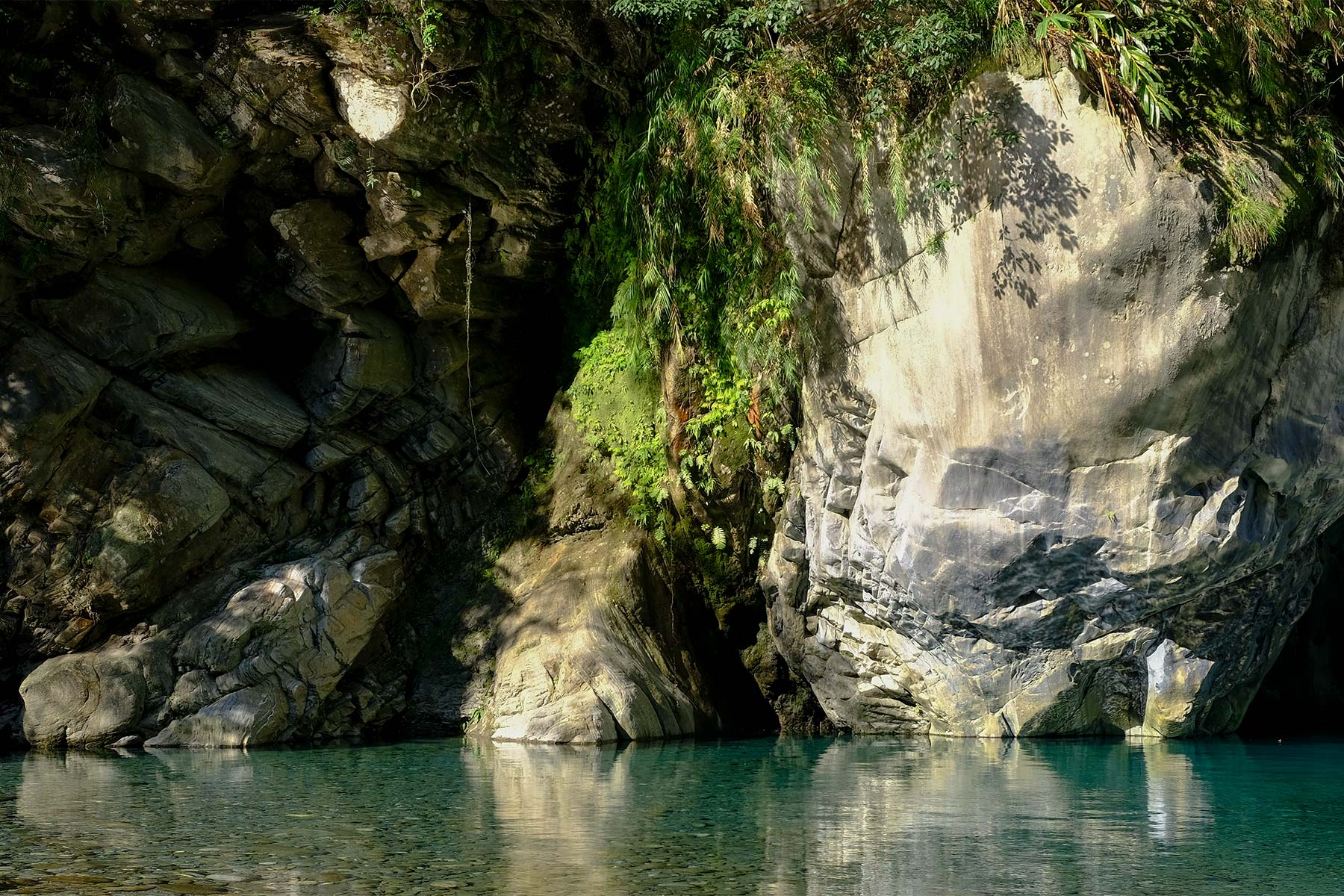 Blick vom Shakadang Trail im Taroko Nationalpark