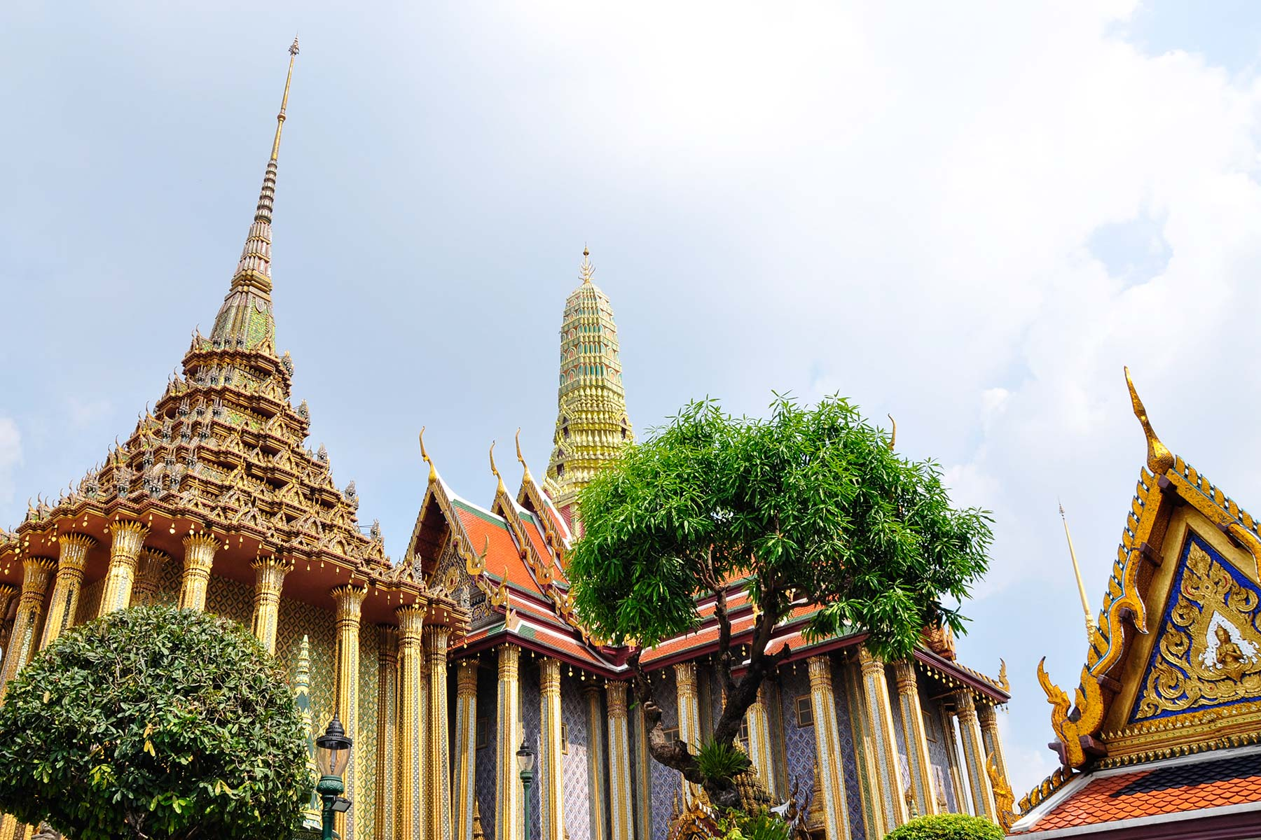 Wat Phra Kaew & Grand Palace in Bangkok, Thailand