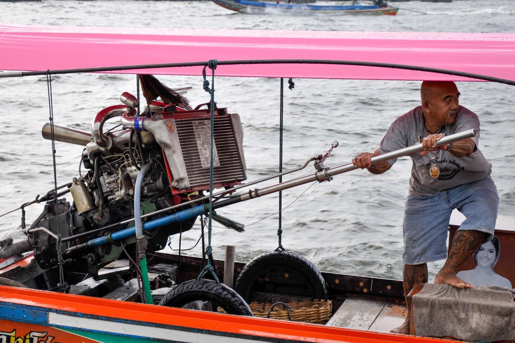 Boot in Bangkok, Thailand