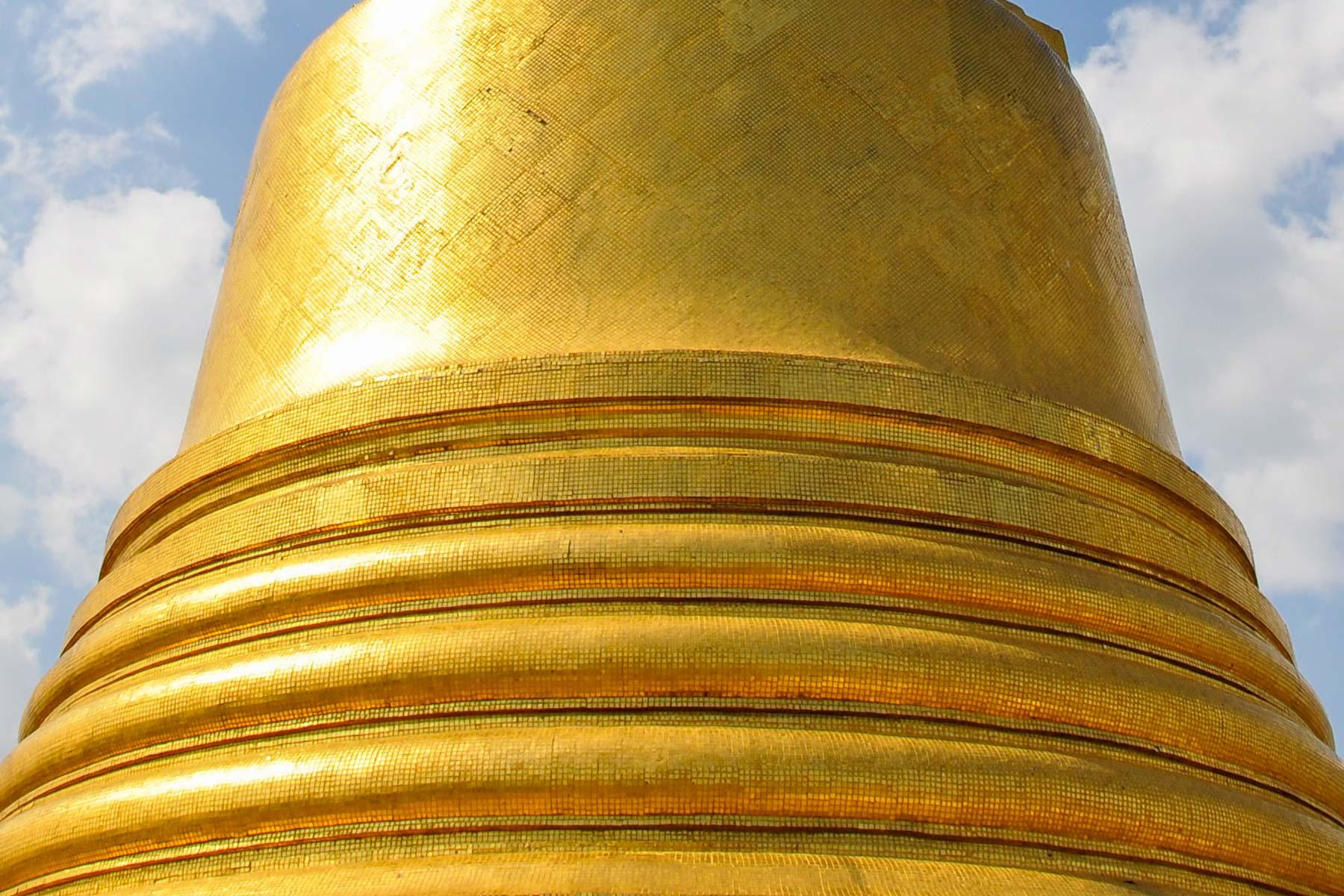 Wat Saket Tempel in Bangkok, Thailand