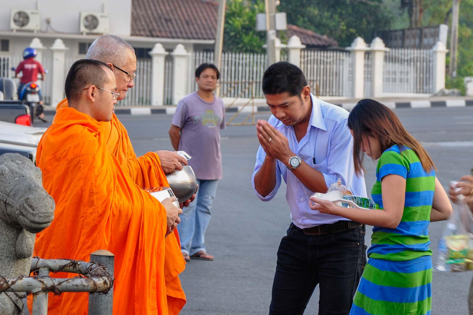 Wat Benchamabophit Tempel in Bangkok, Thailand