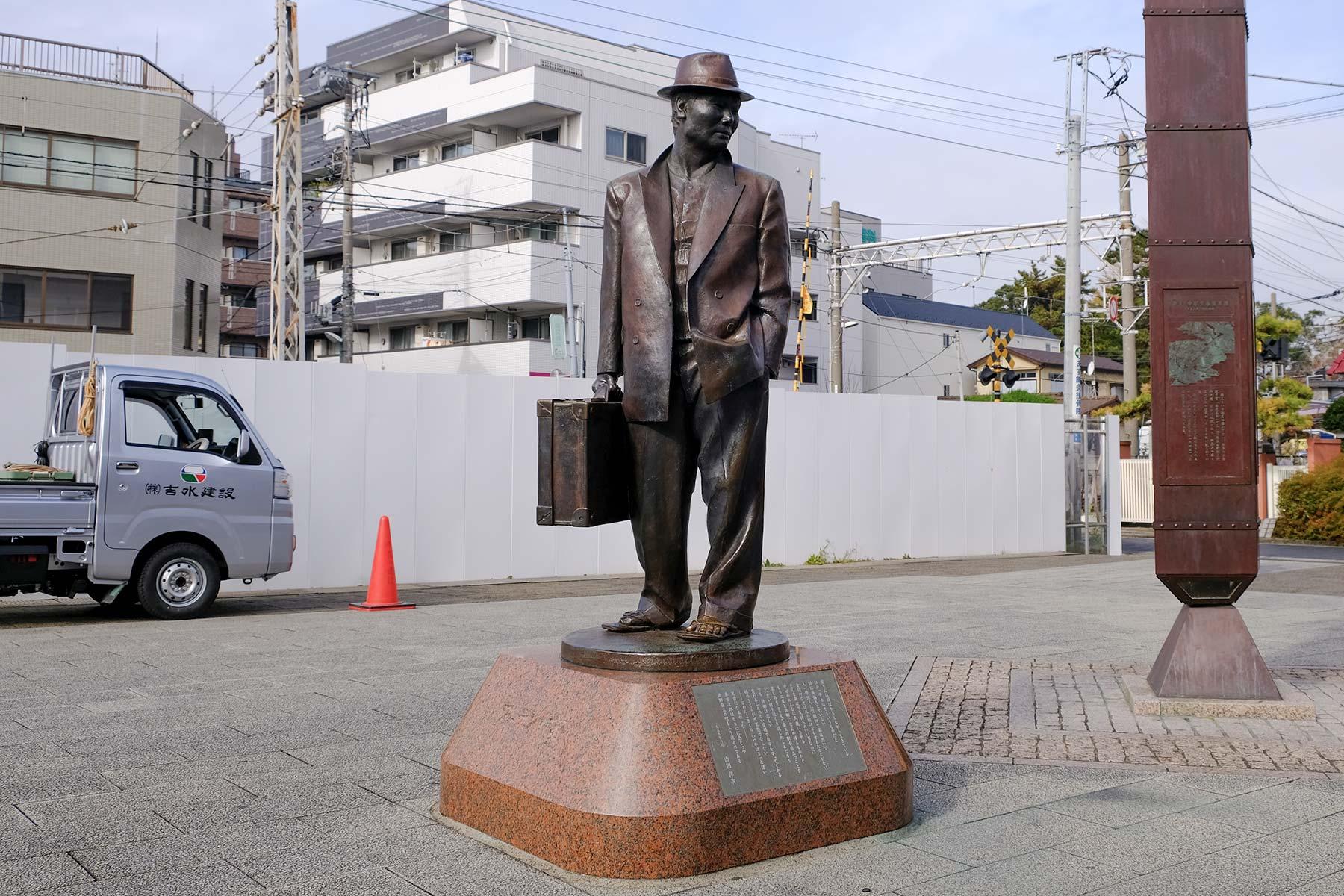 Futen Tora Statue in Shibamata, Tokyo