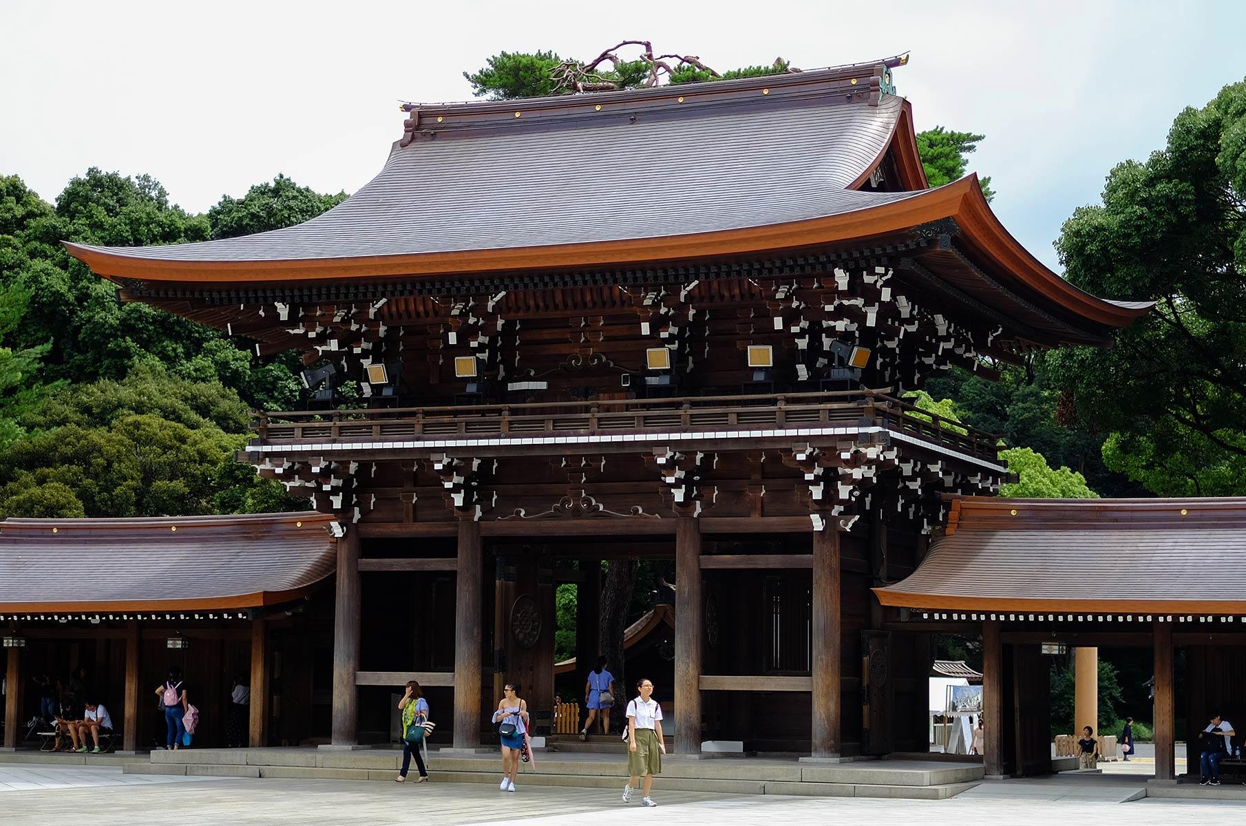 Meiji Schrein im Yoyogi Park in Tokyo, Japan