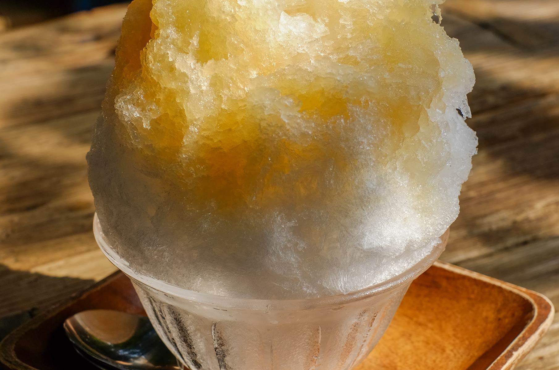 Nikko Lemon Shaved Ice in Tokyo, Japan