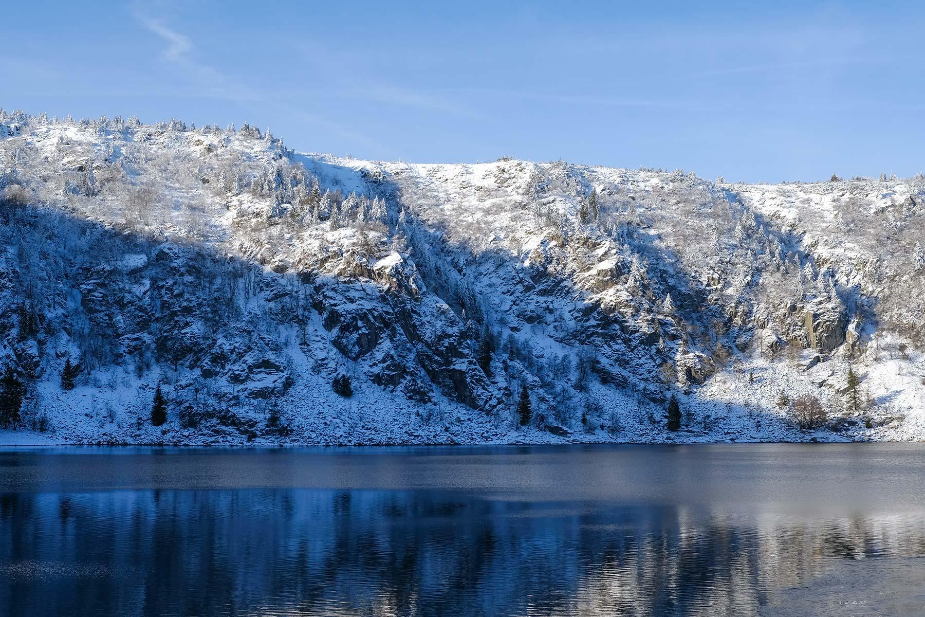 Lac Blanc in den Vogesen