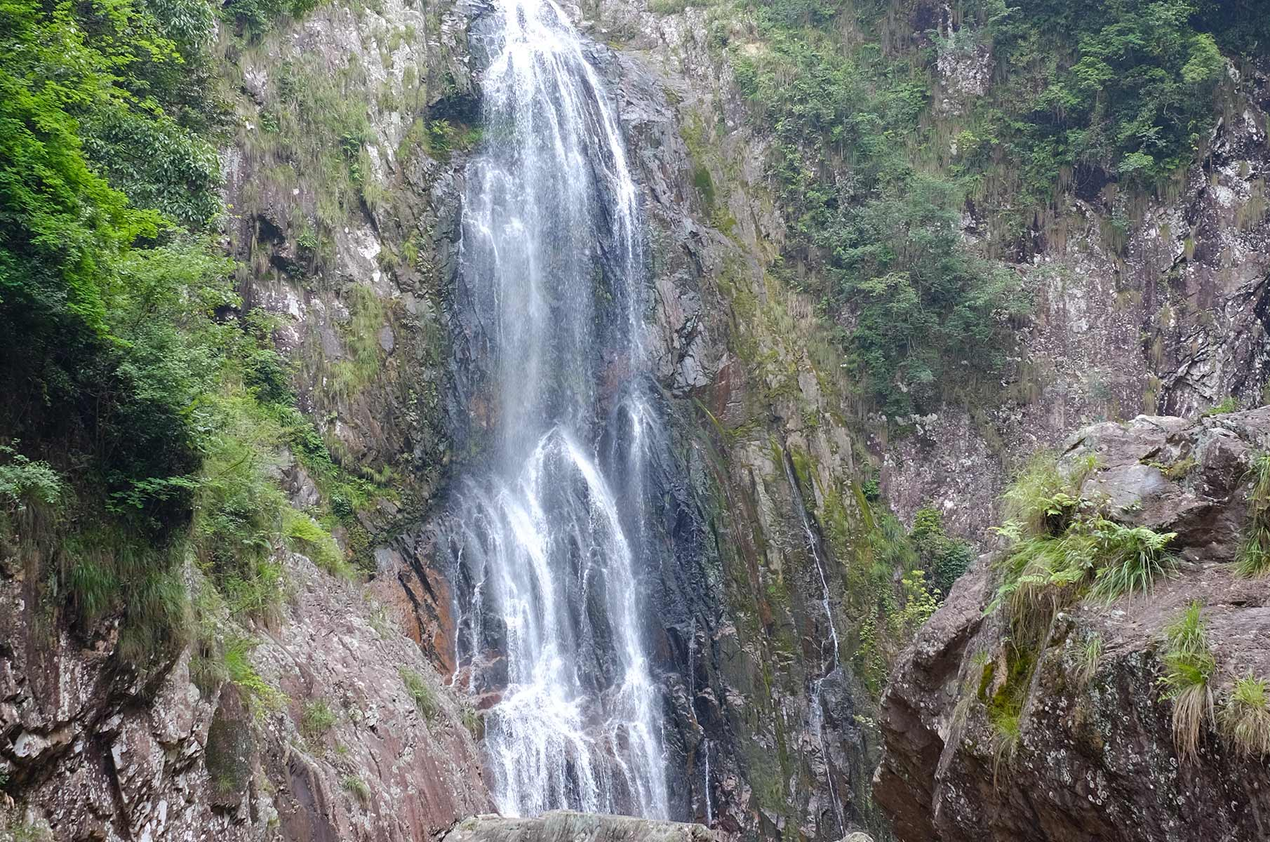 Wasserfall im Yandang Nationalpark, Wenzhou