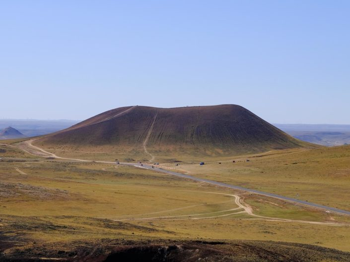 Wulanhada Vulkanlandschaft und Ulanqab in der Inneren Mongolei